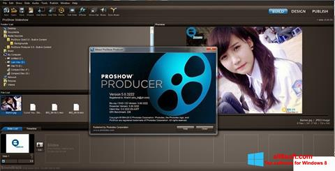 Ekrano kopija ProShow Producer Windows 8